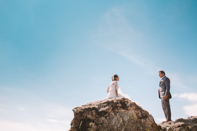 Mexico Mountaintop Elopement Wedding Photographer